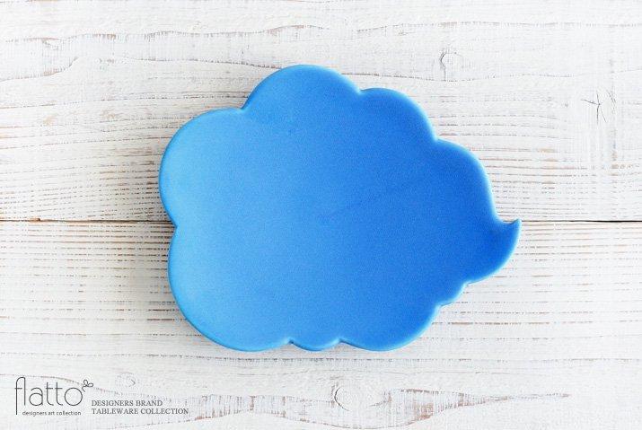 【WEB展示会限定】ブルー ウンリュウプレート|東一仁|中皿