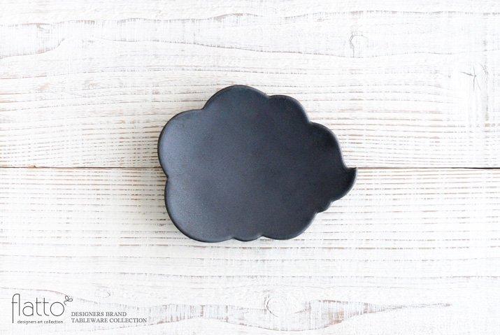【WEB展示会限定】ブラック ウンリュウ菓子皿|東一仁|中皿