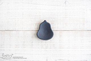 東一仁|ブラック ヒョウタン豆々皿