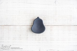 【WEB展示会限定】ブラック ヒョウタン豆々皿 作家「東一仁」