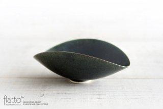 水野幸一|織部 ひずみ鉢(小)