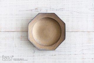 水野幸一|銅彩釉 八角皿(中)|中皿