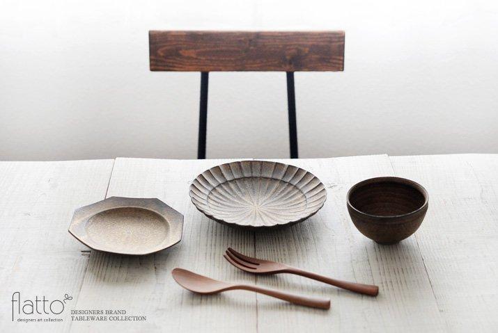 水野幸一|銅彩釉 八角皿(小)-03