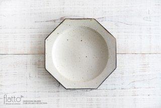 水野幸一|コッツウォルズ オクタゴンプレート(大)|大皿