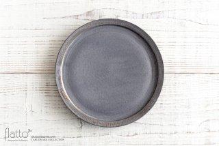 shiro-kuro 7寸皿(黒) 和食器作家「トキノハ」