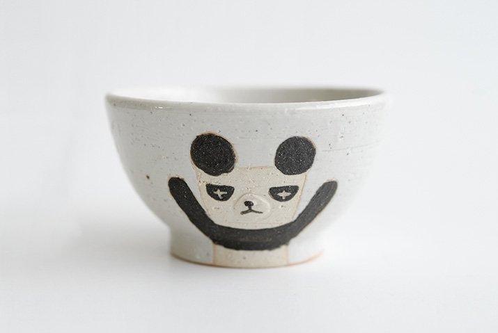 お子茶碗(パンダ) 作家「宮崎孝彦」-02