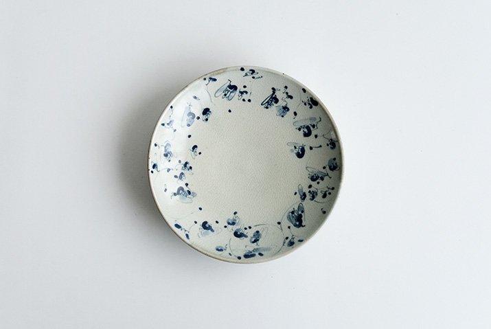 石井桃子|花唐草 5寸皿