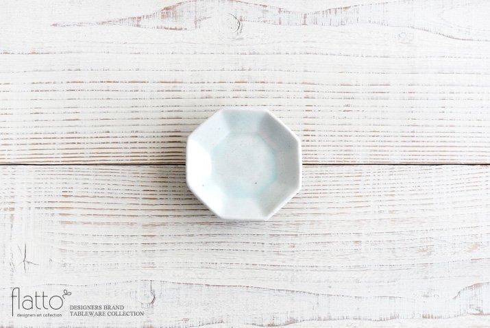 加藤祥孝|青白磁 八角豆皿