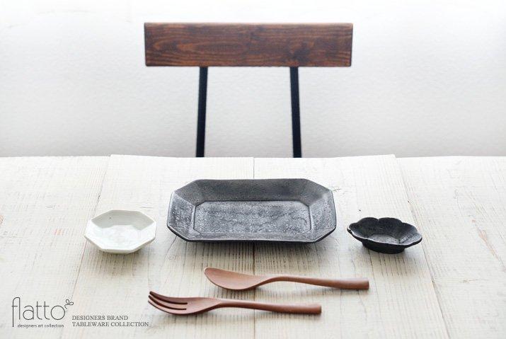 加藤祥孝|青白磁 八角豆皿-03
