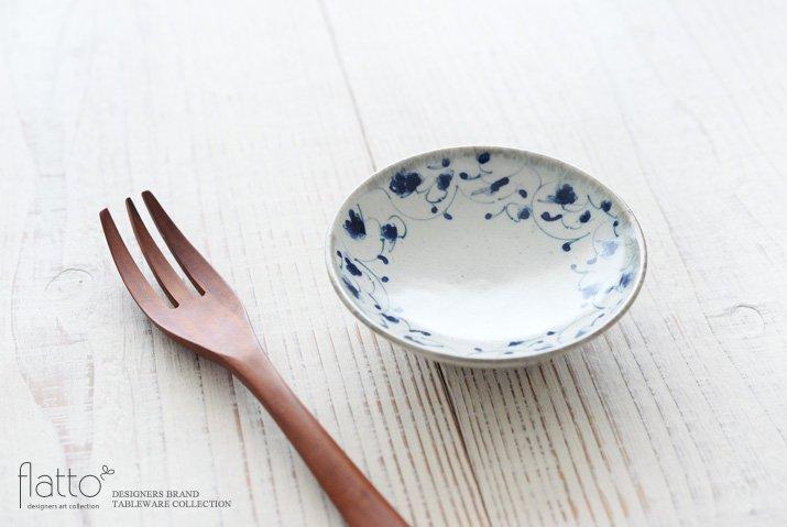 石井桃子|花唐草 3寸小皿-02