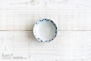 石井桃子|花唐草 3寸リム皿