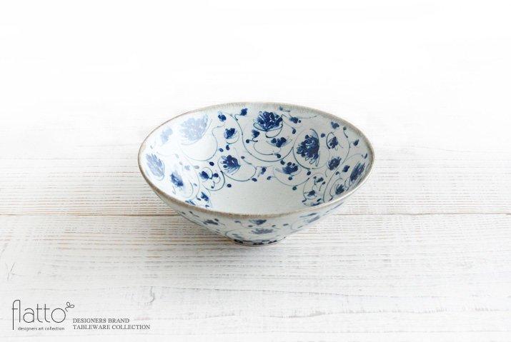 石井桃子|花唐草鉢(大)
