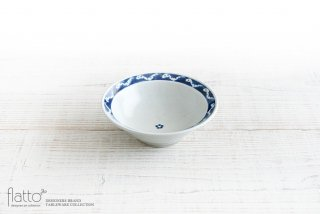 5寸リム鉢(ヘビ) 作家「石井桃子」