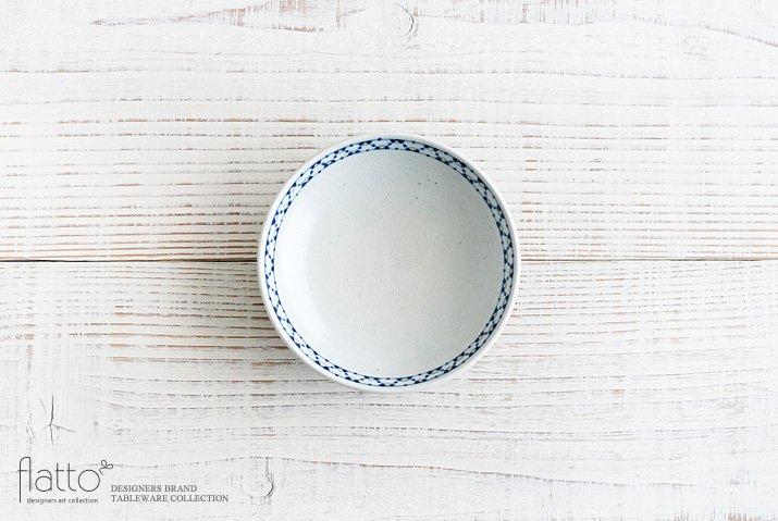 幾何学紋 4寸皿 作家「石井桃子」