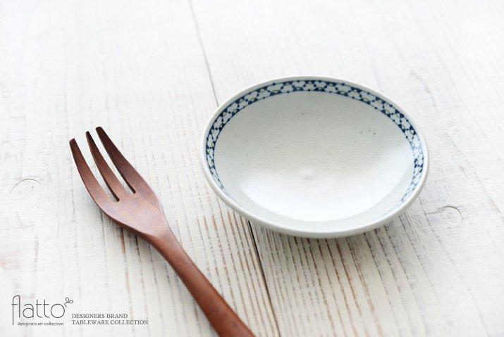 幾何学紋 4寸皿 作家「石井桃子」-02