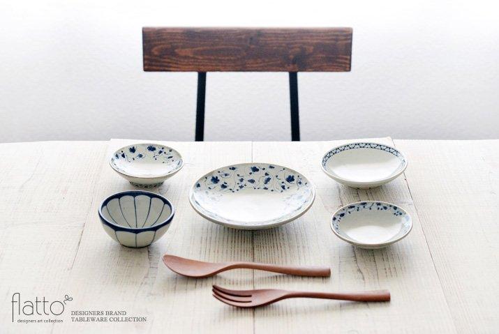 石井桃子|幾何学紋 4寸皿-03