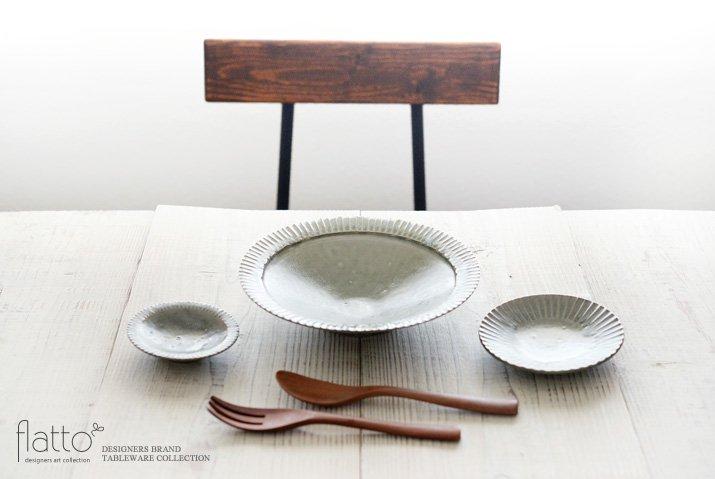 灰釉 3寸鎬皿|市野耕|豆皿・小皿-03