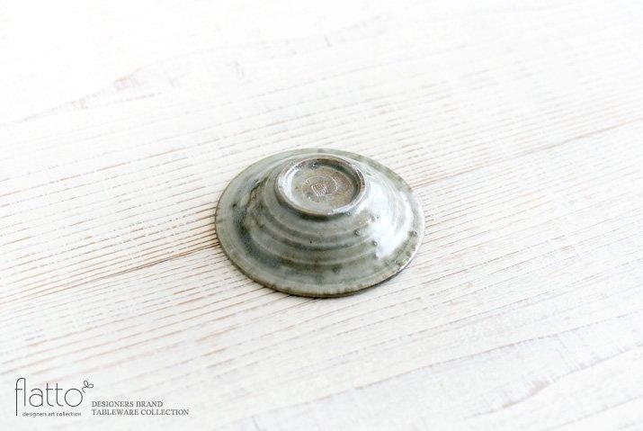 灰釉 3寸鎬皿|市野耕|豆皿・小皿-04