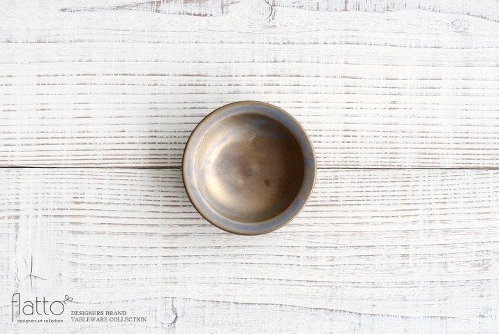 マンガン釉 3寸皿|市野耕|豆皿・小皿