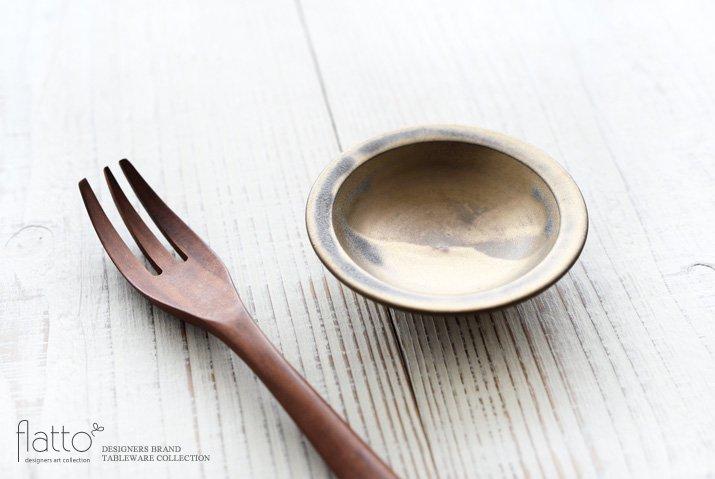 マンガン釉 3寸皿|市野耕|豆皿・小皿-02