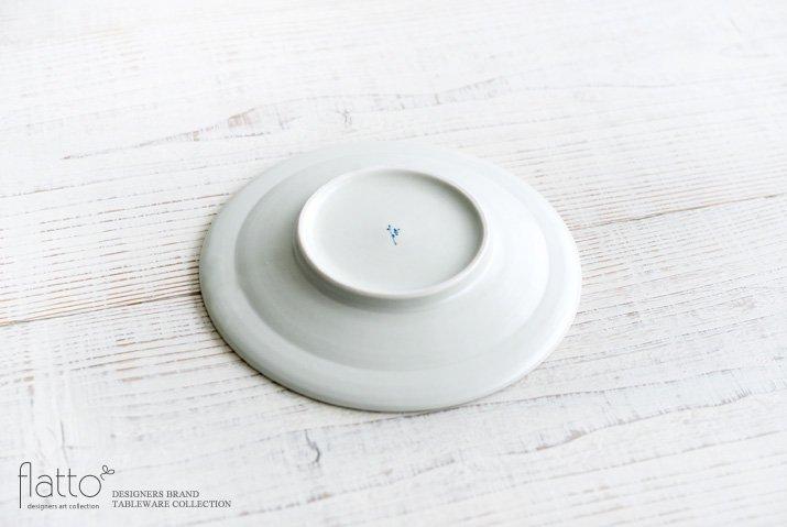 石井桃子|幾何学紋 6寸リム皿(マット)-04