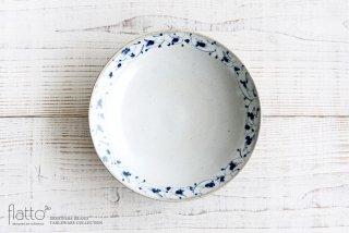 花唐草 7寸リム皿 和食器作家「石井桃子」