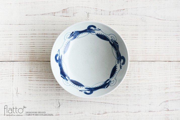 石井桃子|動物紋 6寸鉢(小動物)