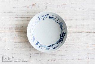 石井桃子|動物紋 6寸皿(草食動物)