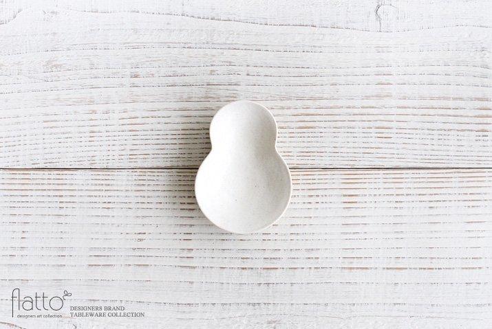 マメマトリョーシカ(小・象牙)|竹口要|豆皿・小皿