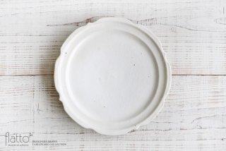 鉄散 彫刻皿8寸 和食器作家「古谷浩一」