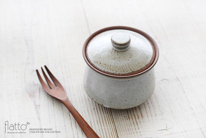 水野幸一|耐熱 白釉オジャ鍋(小)-02