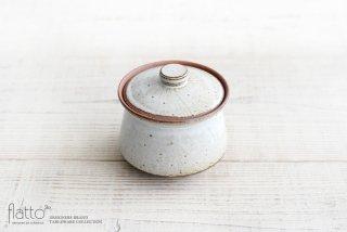 水野幸一|耐熱 白釉オジャ鍋(小)