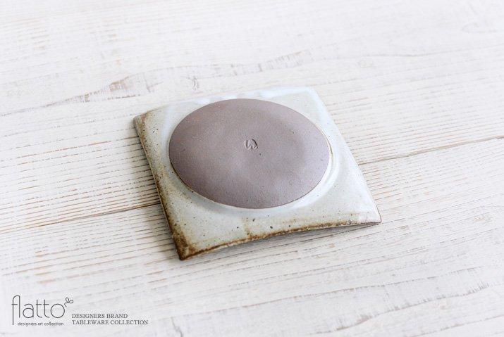 水野幸一|耐熱 白釉角皿(小)-04