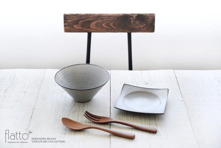 墨貫入 角皿(小)|水野幸一|豆皿・小皿|角皿-03