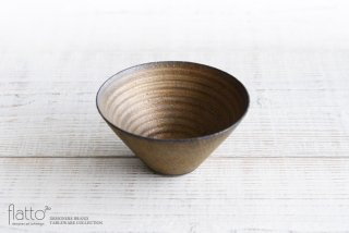 水野幸一|銅彩釉 フリーボール(大)|中鉢