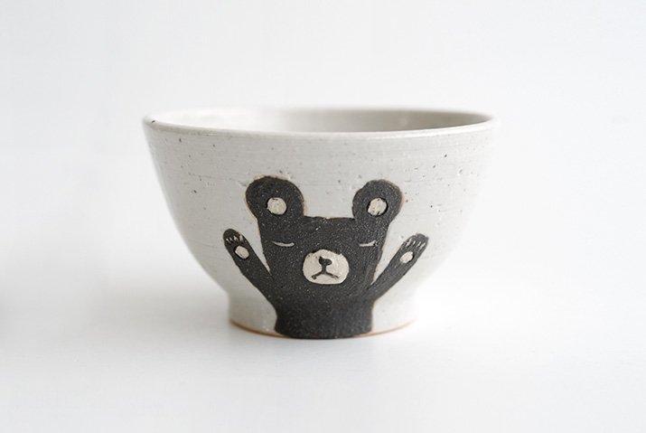 お子茶碗(クマ)|宮崎孝彦|飯碗-02