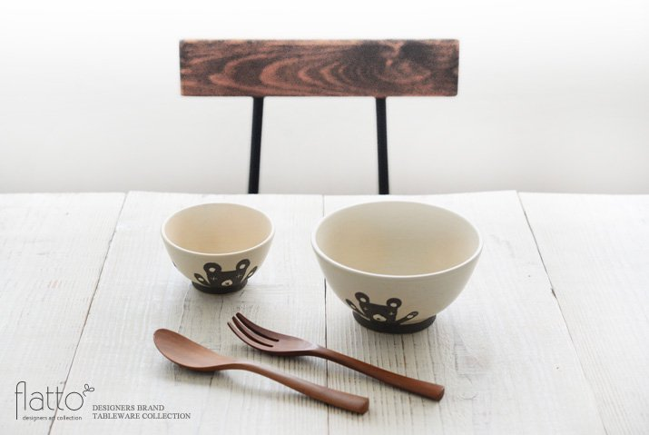 お子茶碗(クマ)|宮崎孝彦|飯碗-03