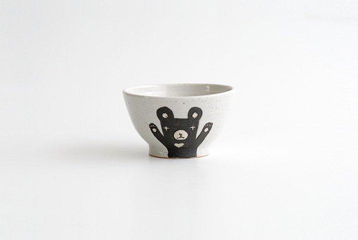 お子茶碗(クマ)|宮崎孝彦|飯碗-04