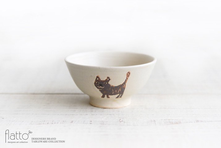 宮崎孝彦|お子茶碗(ネコ)