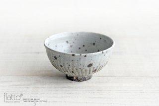 加藤祥孝|グレー粉引飯碗