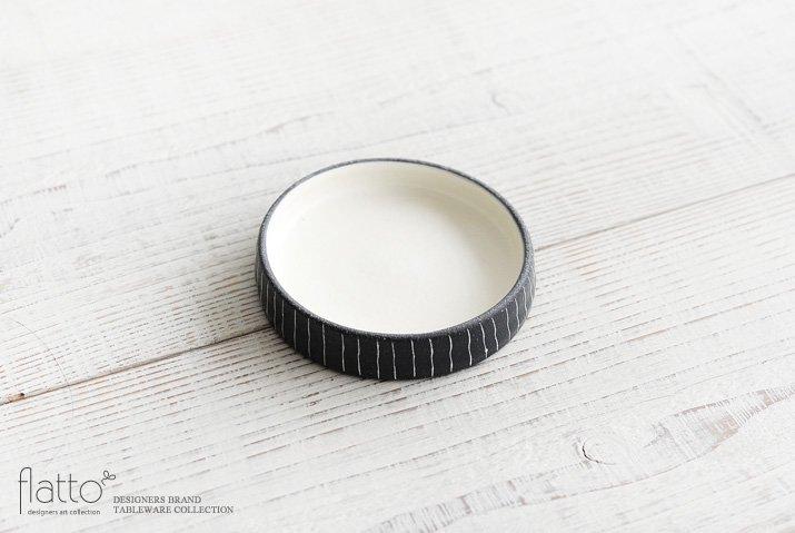 黒十草リバーシブル皿ミニ|奥田章|豆皿・小皿-04