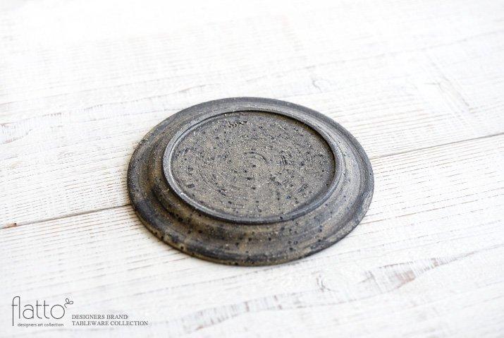 加藤裕章|灰釉雲母リムプレート6寸-04