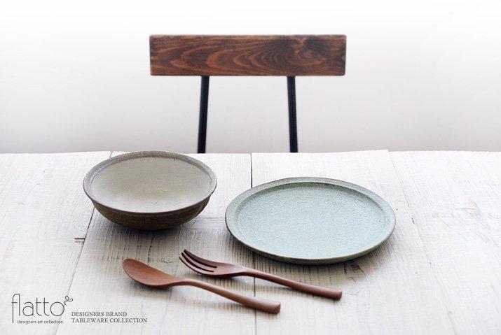 福井亜紀|17cm丸鉢(緑砂)-03