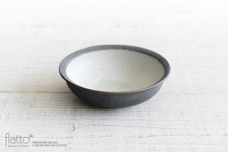 17cm丸鉢(灰砂) 作家「福井亜紀」