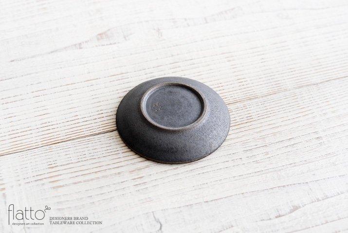 福井亜紀|10cm豆皿(灰砂)-04
