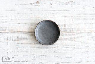 福井亜紀|10cm豆皿(灰砂)
