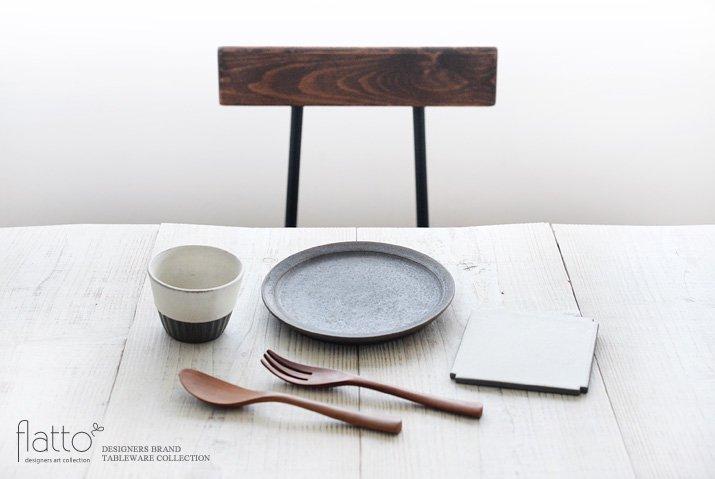 福井亜紀|角切板皿11.5cm(白)-03