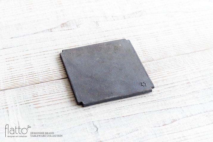 福井亜紀|角切板皿11.5cm(白)-04