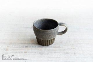 福井亜紀|コーヒーカップしのぎ(灰青)