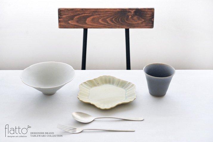 杉原万理江 KATACHI小皿 ロッカク(黄緑)-03